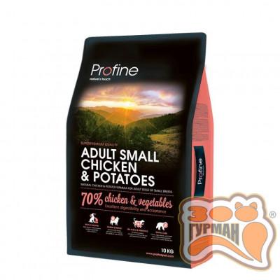 Profine Adult Small Breed Chicken and Potatoes для взрослых собак малых пород