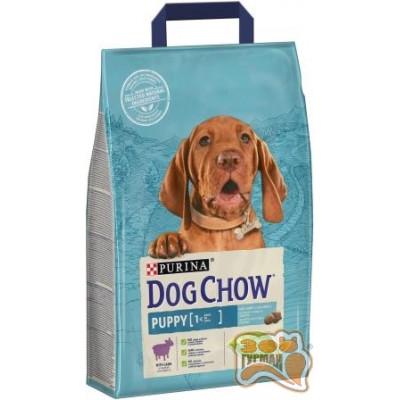 DOG CHOW (ДОГ ЧАУ) PUPPY корм для щенков всех пород с ягненком