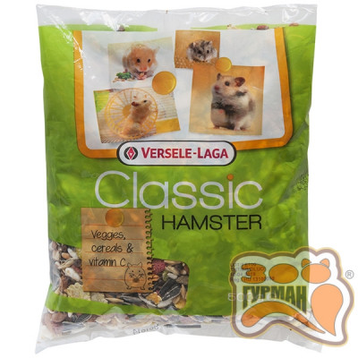 купити Versele-Laga Classic Hamster ВЕРСЕЛЕ-ЛАГА КЛАССИК ХАМСТЕР корм для хомяков, 0.5 кг в Одеси
