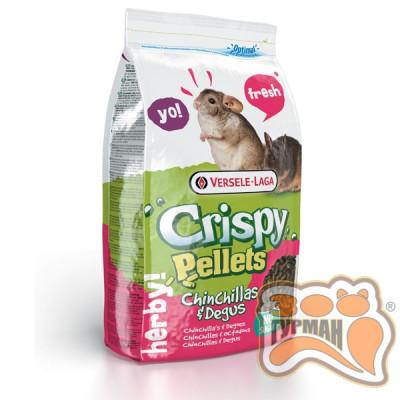 купити Versele-Laga Crispy Pellets Chinchillas&Degus  гранулированная смесь корм для шиншилл и дегу в Одеси