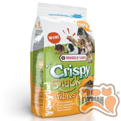 купити Versele-Laga Crispy Snack Fibres зерновая смесь лакомство для грызунов, гранулы с овощами, 0,65 кг в Одеси