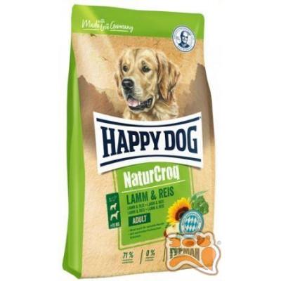 Happy Dog Premium - NaturCroq  ягненок с рисом 15кг