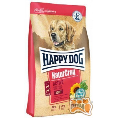 Happy Dog Premium - NaturCroq Active для активных собак