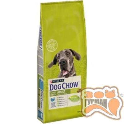 купити Dog Chow Large Breed для взрослых собак крупных пород с индейкой 14кг в Одеси