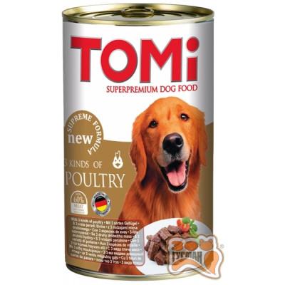 купити TOMi 3 kinds of poultry 3 ВИДА ПТИЦЫ консерва для собак в Одеси