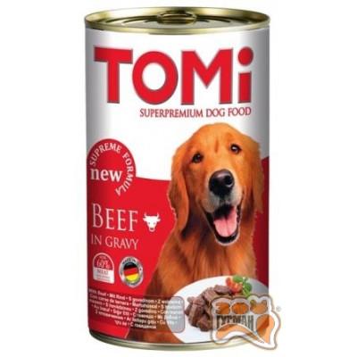 купити TOMi Beef ГОВЯДИНА  консерва для собак в Одеси