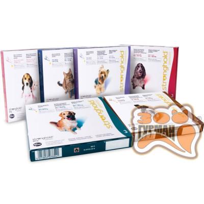 купити Стронгхолд (Stronghold) антипаразитарный препарат для щенков и взрослых собак, 1 пип. в Одеси