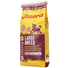 Josera Large Breed з птицею та лососем для собак великих порід, 15 кг