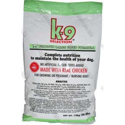 купити K9 Selection Growth Large Breed Formula корм для  щенков крупных пород в Одеси
