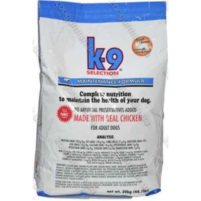 купити K9 Selection Small Breed Maintenance корм для собак мелких пород, 20 кг в Одеси
