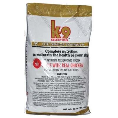 купити K9 Selection Lite/Senior Formula диетический корм для собак, 12 кг в Одеси