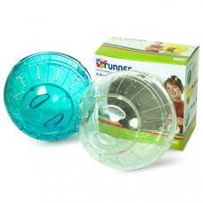 Savic РАННЕР МЕДИУМ (Runner Medium) прогулочный шар для хомяков, пластик, 18 см