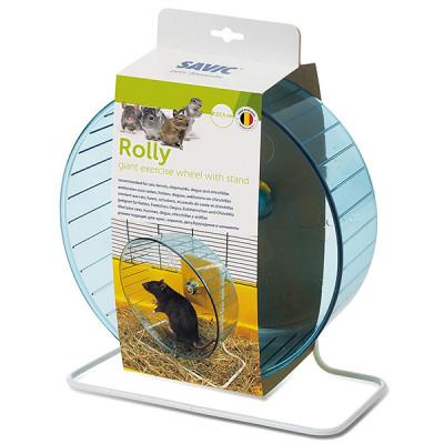 купити Savic РОЛЛИ (Rolly Giant+Stand) тренажер колесо для хомяков и крыс, пластик, 27,5 см в Одеси
