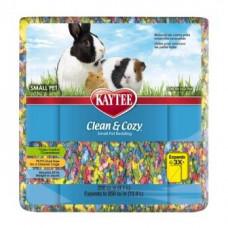 Kaytee Clean&Cozy BirthdayCake Клин&Кози ЧИСТО&УЮТНО КЕЙК подстилка для грызунов, целлюлоза, разноцветная, 4,1 л