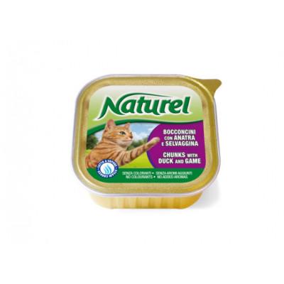 купити Naturel Alutrays Шматочки качки з дичиною 100г в Одеси