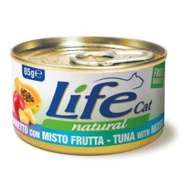 купити LIFECAT Тунець з фруктовим міксом в Одеси