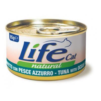купити LIFECAT Тунець з океанічною рибою 85g в Одеси