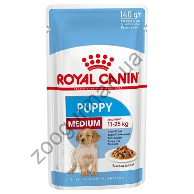 купити Royal Canin WET MEDIUM PUPPY для щенков средних пород 140г в Одеси