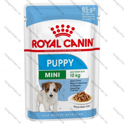 купити Royal Canin WET MINI PUPPY для щенков мелких пород 85г в Одеси