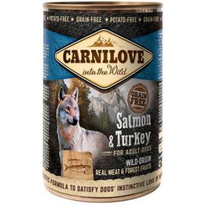 купити Carnilove Adult Dog с индейкой и лососем 400 гр в Одеси