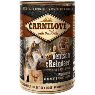 Carnilove Adult Dog с северным оленем 400 гр