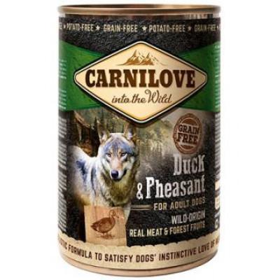 Carnilove Adult Dog с уткой и фазаном 400 гр