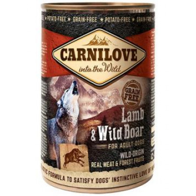 купити Carnilove Adult Dog ягненок и дикий кабан 400 гр в Одеси