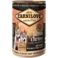 Carnilove Puppy с индейкой и лососем 400 гр