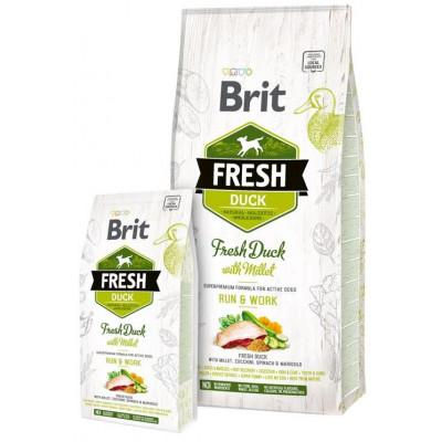купити Brit Fresh (Брит Фрэш) Adult Active Duck with Millet - беззерновой корм для активных собак всех пород (утка/пшено) в Одеси
