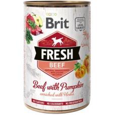 Brit Fresh (Брит Фрэш) с говядиной и тыквой 400 гр