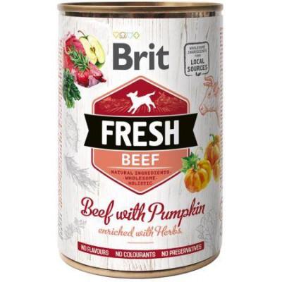 купити Brit Fresh (Брит Фрэш) с говядиной и тыквой 400 гр в Одеси