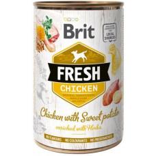 Brit Fresh (Брит Фрэш) с курицей и бататом 400 гр