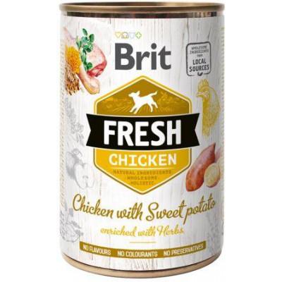 купити Brit Fresh (Брит Фрэш) с курицей и бататом 400 гр в Одеси