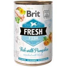 Brit Fresh (Брит Фрэш) с рыбой и тыквой 400 гр