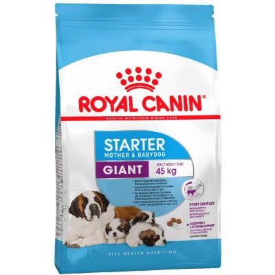 купити Royal Canin GIANT STARTER для щенков крупных пород до 2-х месяцев, беременных и кормящих сук в Одеси