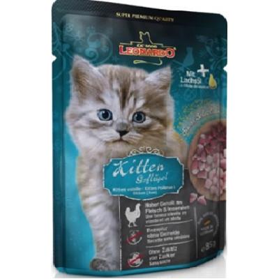купити Leonardo для кошенят пауч 85г в Одеси