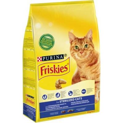 купити Friskies (Фрискис) Sterilised, 10кг в Одеси